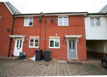 Thumbnail 2 bed terraced house to rent in Gerard Gardens, Chelmsford