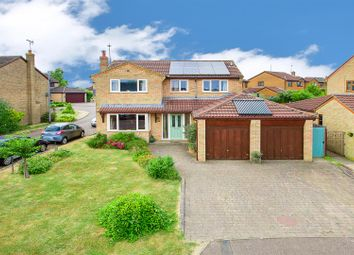 Thumbnail 4 bed detached house for sale in Adams Drive, Rothwell