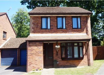 Thumbnail 3 bed detached house for sale in Elan Close, West End, Southampton