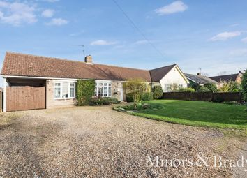 Thumbnail 3 bed semi-detached bungalow for sale in Hockey Hill, Wetheringsett, Stowmarket