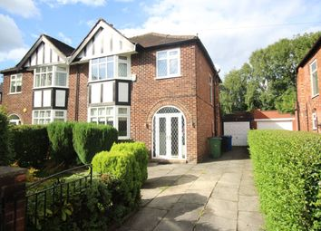 Thumbnail 3 bedroom semi-detached house for sale in West Park Road, Bramhall, Stockport