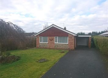 Thumbnail 3 bed bungalow for sale in Somerset Way, Wem