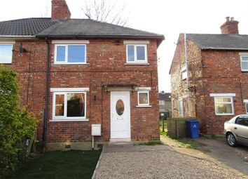 Thumbnail 3 bed semi-detached house for sale in Northgate, Moorends, Doncaster