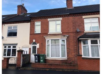 Thumbnail 3 bed terraced house for sale in Springfield Road, Shepshed
