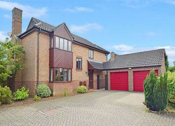 Thumbnail 4 bedroom detached house for sale in Wood Lane, Hartwell, Northampton