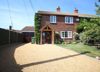 Thumbnail 3 bed semi-detached house for sale in Evans Lombe Close, Repps With Bastwick, Great Yarmouth