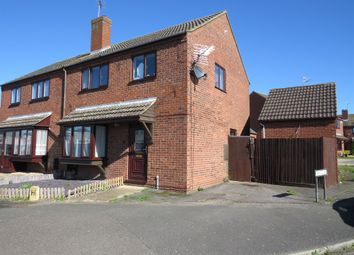 Thumbnail 3 bed semi-detached house for sale in Landsdowne Road, Yaxley, Peterborough