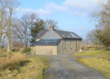 Thumbnail 4 bed detached house for sale in Trefeglwys, Caersws, Powys