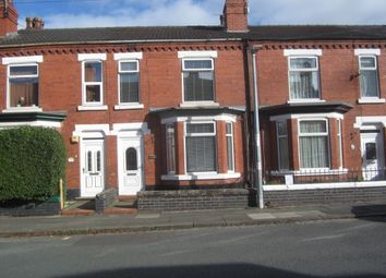 Thumbnail 3 bed terraced house for sale in Somerville Street, Crewe
