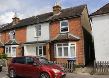 Thumbnail 2 bed end terrace house to rent in Chertsey Road, Byfleet, Surrey