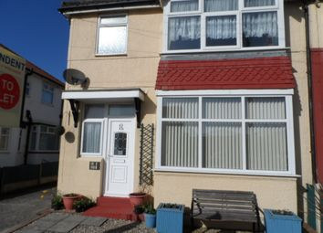 Thumbnail 1 bed flat to rent in Rough Lea Road, Thornton-Cleveleys