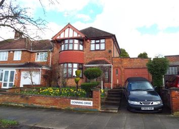 Thumbnail 3 bed detached house for sale in Downing Drive, Evington, Leicester, Leicestershire