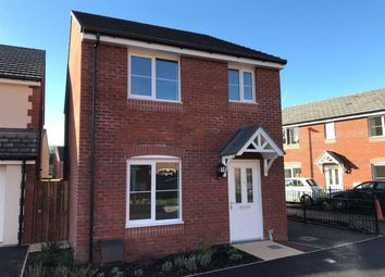 Thumbnail 3 bed detached house to rent in Hurricane Way, Jubilee Park, Newport