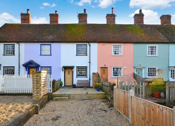 Thumbnail 2 bed terraced house for sale in Church End, Dunmow, Essex