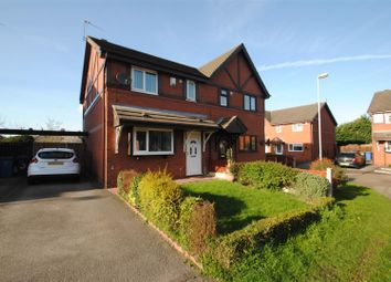 Thumbnail 3 bed semi-detached house for sale in Burland Close, Runcorn