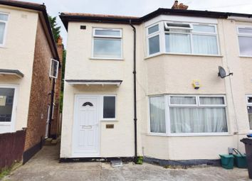 Thumbnail 1 bed flat to rent in Central Road, Wembley, Middlesex