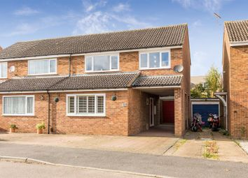 Thumbnail 3 bed semi-detached house to rent in Laxton Gardens, Baldock