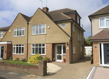 Thumbnail 4 bedroom semi-detached house for sale in Clovelly Avenue, Ickenham