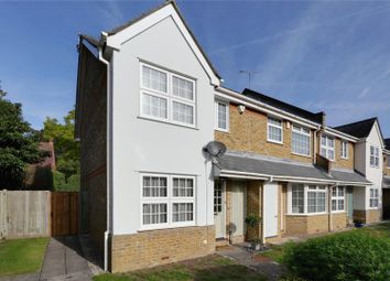 Thumbnail 3 bed end terrace house for sale in Ravenswood Close, Cobham, Surrey