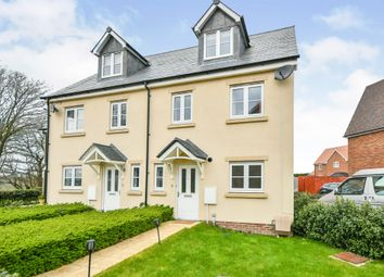 Thumbnail 3 bed town house for sale in Milbourne Way, Chippenham