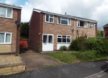 Thumbnail 3 bed semi-detached house for sale in Hothorpe Close, Binley, Coventry, West Midlands