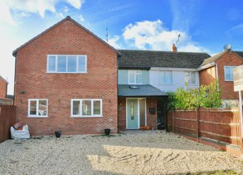 Thumbnail 5 bed semi-detached house for sale in Church Road, Hampton, Evesham