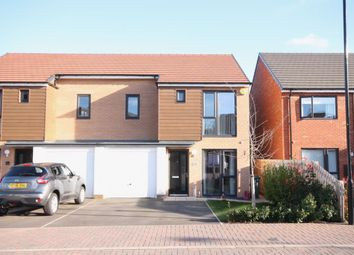 Thumbnail 3 bed semi-detached house for sale in Chillingham Close, Teal Farm Gardens, Washington