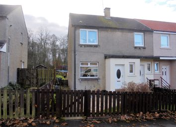Thumbnail 3 bedroom terraced house for sale in Gala Crescent Coltness, Wishaw