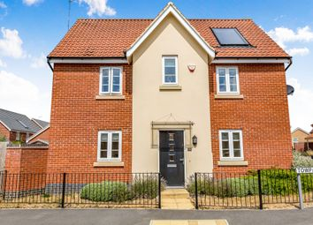 Thumbnail 3 bed detached house for sale in Towpath Avenue, Northampton