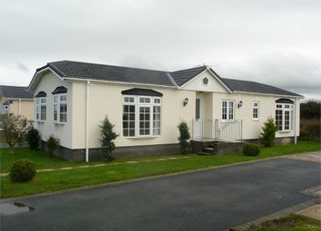 Thumbnail 3 bed mobile/park home for sale in 5 Scamford Park, Camrose, Haverfordwest, Pembrokeshire