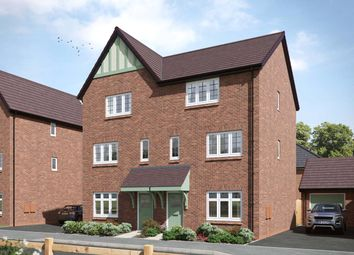 Thumbnail 4 bed semi-detached house for sale in Tatenhill, Burton-On-Trent, Staffordshire