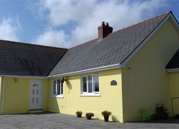 Thumbnail 4 bed detached bungalow for sale in Caegwyn, Llangolman, Clynderwen, Pembrokeshire