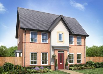 "Thumbnail 3 bedroom detached house for sale in ""Morpeth"" at Papplewick Lane, Hucknall, Nottingham"