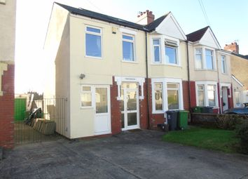 Thumbnail 5 bed semi-detached house for sale in Bwlch Road, Fairwater, Cardiff
