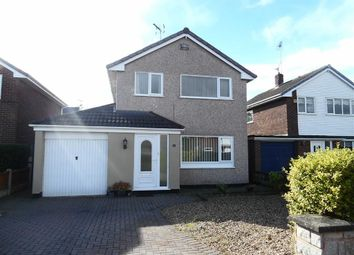 Thumbnail 3 bed detached house for sale in Ffordd Garmonydd, Little Acton, Wrexham