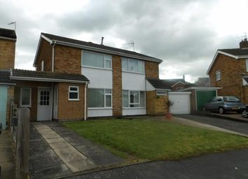 Thumbnail 2 bed semi-detached house for sale in Greensward, East Goscote, Leicester, Leicestershire