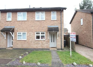 Thumbnail 2 bed semi-detached house for sale in Stirling Avenue, Hinckley