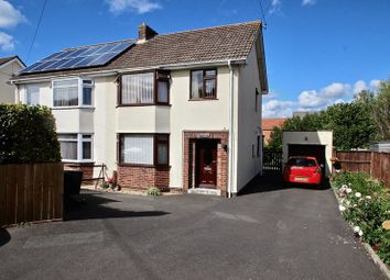 Thumbnail 3 bed semi-detached house for sale in Wells Road, Glastonbury