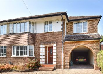 Thumbnail 4 bed semi-detached house for sale in Diamond Ridge, Camberley, Surrey