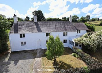 Thumbnail 4 bed farmhouse for sale in Ffordd Y Pentre, Nercwys, Mold