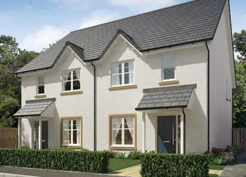 "Thumbnail 3 bedroom semi-detached house for sale in ""The Kilmington"" at Vert Court, Haldane Avenue, Haddington"