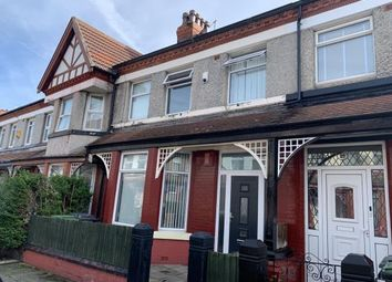Thumbnail 4 bed terraced house for sale in Roxburgh Avenue, Higher Tranmere, Wirral