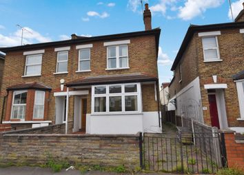 Thumbnail 3 bed semi-detached house for sale in Wellesley Road, London