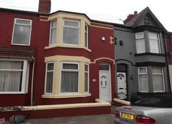Thumbnail 3 bed terraced house to rent in Cedardale Road, Liverpool