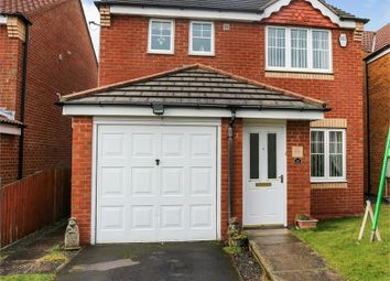 Thumbnail 3 bed detached house for sale in Redwood Court, Ashington, Northumberland