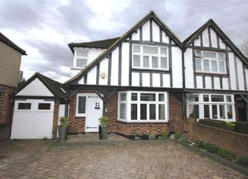 Thumbnail 3 bed semi-detached house for sale in Parkside Drive, Edgware, Greater London.