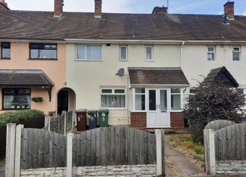 Thumbnail 3 bed terraced house to rent in Fleming Road, Walsall