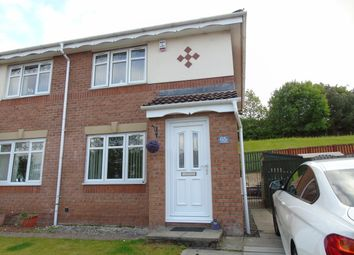 Thumbnail 2 bed semi-detached house for sale in Skye Wynd, Earnock, Hamilton, South Lanarkshire