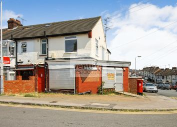Thumbnail 3 bedroom end terrace house for sale in Atherstone Road, Luton