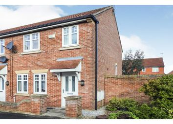 3 bed end terrace house for sale in Cromwell Road, Hedon, Hull HU12